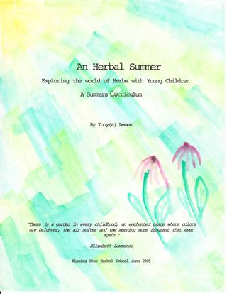 Cover herbal summer