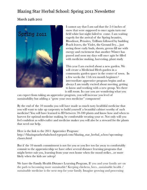 BSHS Spring NewsletterPDF